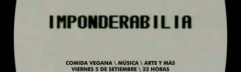 IMPONDERABILIA - 05/09/14